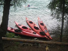 Kayaken auf dem Silsersee