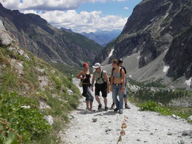 aufm Weg zum Glacier Blanc
