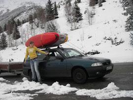 Andere haben Skier aufm Dach