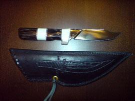 Das Messer hab ich mit und für meinen Neffen Tom gemacht
