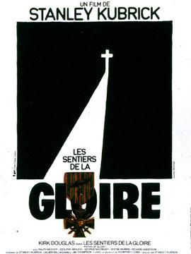 """Affiche du film, """"Les Sentiers de la Gloire"""" (DR)"""