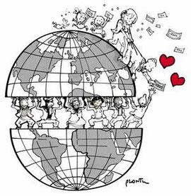 Le monde vue par Plantu (Plantu -DR)