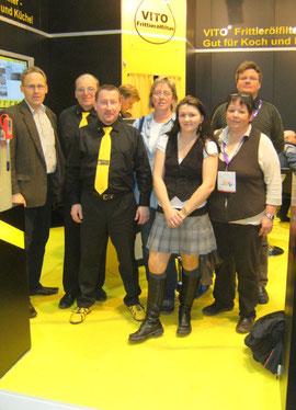 Besuch auf dem Messestand der SYS SystemFiltration GmbH