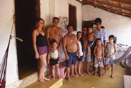 Ma famille d'accueil dans la ferme