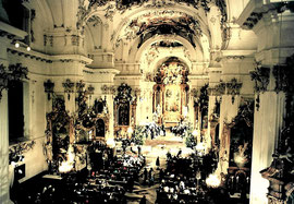 Heilige Nacht mit Enrico de Paruta - Aufzeichnung der ersten Fernsehweihnacht des Bundespräsidenten Roman Herzog im Marienmünster zu Dießen 1995