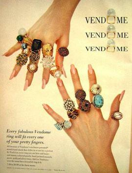 Реклама колец от Vendome