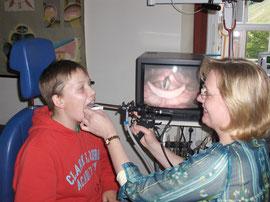 Stimmdiagnostik mit Videostroboskopie