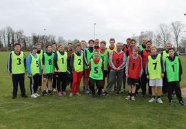 Anwärtergruppe nach der Laufprüfung