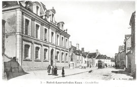 La Mairie et la place de la Mairie avant 1922