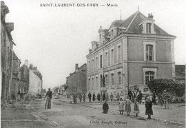 La Mairie entre 1909 et 1922