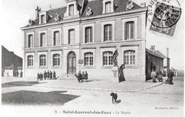 La Mairie en 1909