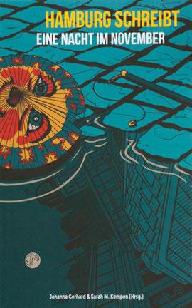 Buch-Cover der Anthologie Hamburg schreibt eine Nacht im November