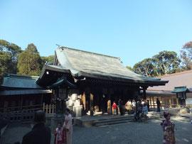 Main Hall of Hikawa Shrine