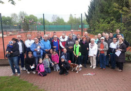 SSV Tennissparte Saisonstart Sommer 2014