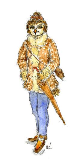 Mademoiselle Kuvik de Balablan.