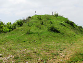 Mound on Sandbag Battery