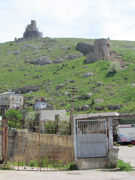 Genoese ruins above Balaklava