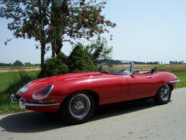 Jaguar E-Type Cabrio mieten