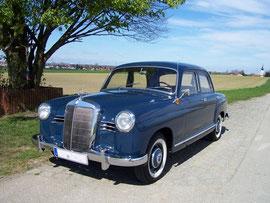 Mercedes Benz Ponton mieten