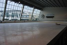 Une très belle patinoire.