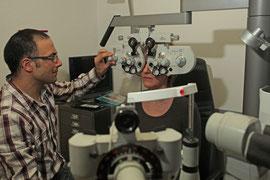 Sehberatung bei Optiker Vocke