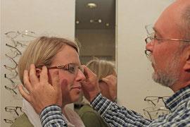 Brillenberatung bei Optiker Vocke