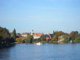Herbststimmung an der Dahme bei Köpenick