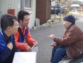2011年11月、岩手県宮古市にて