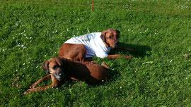 Yasi und Emil (im TAIO-T-Shirt)