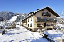 Lage Ferienhaus Mühllehen Flachau