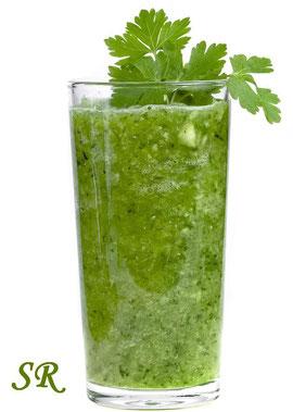 Зеленый коктель от Санрайдер