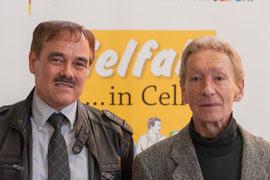 Alexander Schäfer und Fred Budweth (beide Jugendclub Celler Land e.V.)    Foto: Alexander Ahrenhold