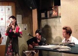 とださん、お写真お借りました^^ 昨日はパンデイロを演奏してくださってありがとうございました!