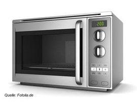Eigentlich aus unseren Küchen nicht mehr wegzudenken: der Mikrowellenherd