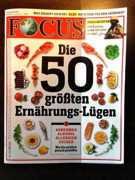 Focus-Titelstory  31/14 vom 28. Juli 2014