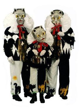 Das Kostüm der Messkircher Katze.