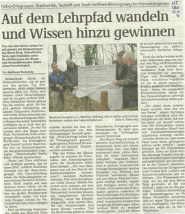 Volksstimme Schönebeck vom 23. November 2010