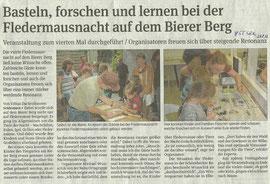 Volksstimme Schönebeck vom 27. August 2012