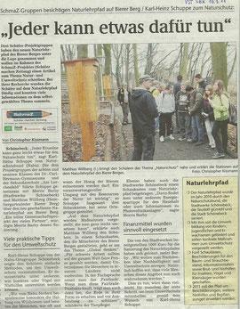 Volksstimme Schönebeck vom 17. März 2011