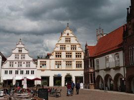 Lemgo: Rathaus und Marktplatz