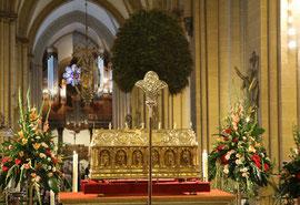 Schrein: Reliquien des heiligen Liborius
