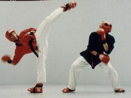 Semikontakt - Kickboxen
