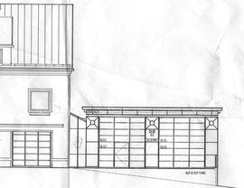 Bauplan Rüsthaus