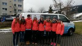 Schüler - WM Team des Sportgymnasiums Oberwiesenthal
