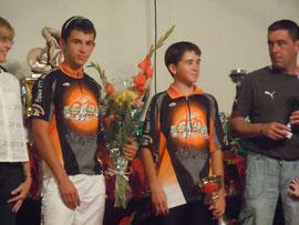 "Podium ""VTT"" Gentleman Cycliste 2011"