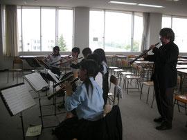 2008年5月のOboeセミナー(於 平成音楽大学 )