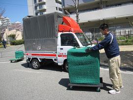 赤帽 神戸市西区の引越し