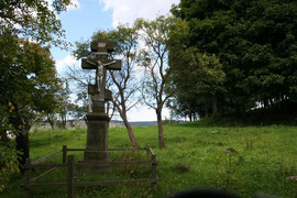 Przydrożne kamienne krzyże prawosławne