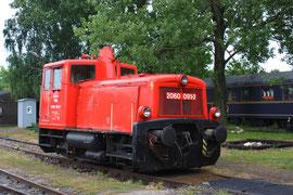 Die 2060.091 in der Zugföderungsstelle Mistelbach.