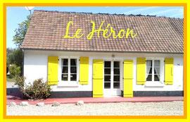Héron Gïtes des Garennes Location vacances Rue, Baie de Somme, Marquenterre